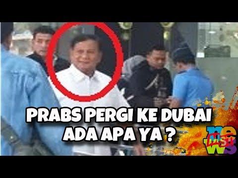 Pak Prabowo Ke Dubai, Baliknya Tentative, Ada Apa Ya?