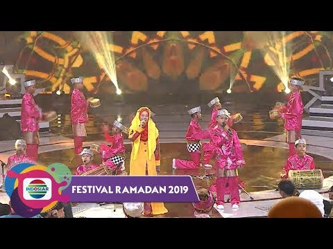 "INDONESIA BANGET! Ada Gatot Kaca Ikutan di El Fath Junior "" Ya Rasulullah"" | Festival Ramadan 2019"