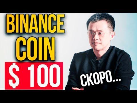 Рост Binance Coin до $100. Хитрый план Чанпэн Чжао. Когда покупать Binance Coin. Прогноз BNB 2019