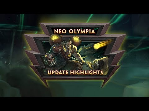 SMITE – Update Highlights – Neo Olympia