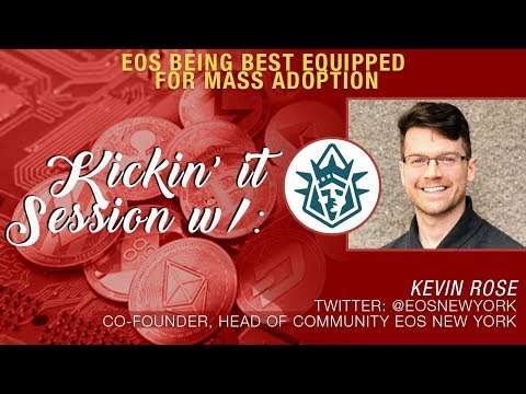 Kevin Rose x Crypto Blood Talk B1 June Announcement, EOS NY Projects, Blockchain & Gaming + More!