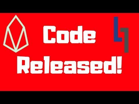 EOSIO Code Released!
