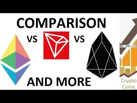 Ethereum vs EOS vs Tron vs others. Which smart contract blockchain is the most popular?
