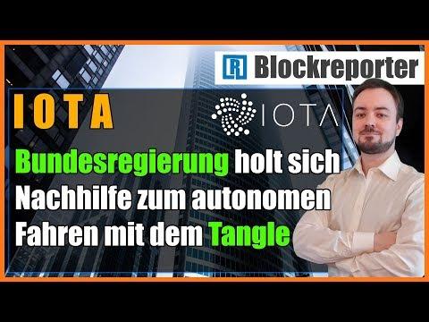 IOTA gibt Bundesregierung Nachhilfe in Tangle Platooning | Blockreporter deutsch kryptowährung