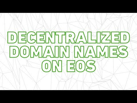 EOS DNS Beta is here! Decentralized website domains on EOS!