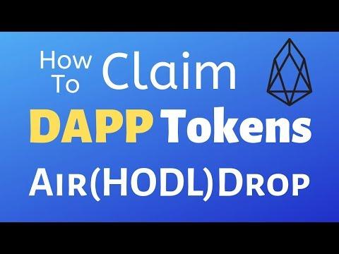 How To Claim/Grab DAPP Tokens (EOS) – Liquidapps Airdrop
