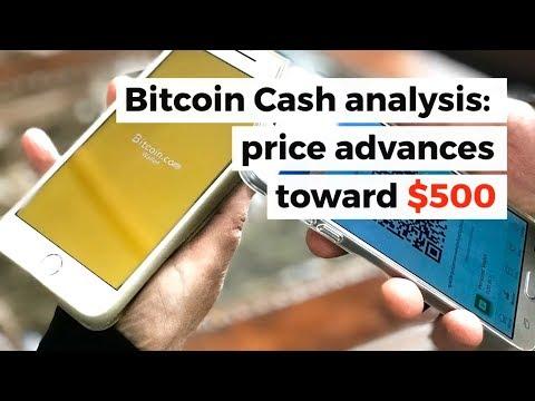 Bitcoin Cash towards $500