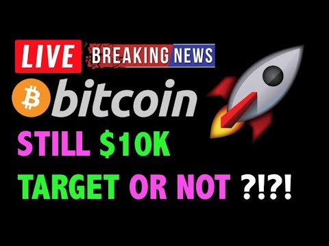 Bitcoin STILL HEADED TO $10K OR NOT?! – LIVE Crypto Trading Analysis & BTC Cryptocurrency Price News