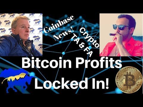 Stops Triggered; Locked In Bitcoin Gains! Coinbase Lists EOS & Margin Trading!? RPD Giveaway!