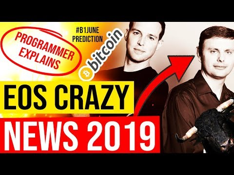 😱 EOS HYPE 2019 👉 #B1June Predictions, Coinbase listing, World-Wide Adoption, IOT