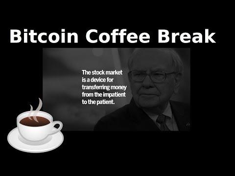 Bitcoin Coffee Break (31st May) – Markets, Trump, Gold/Bitcoin