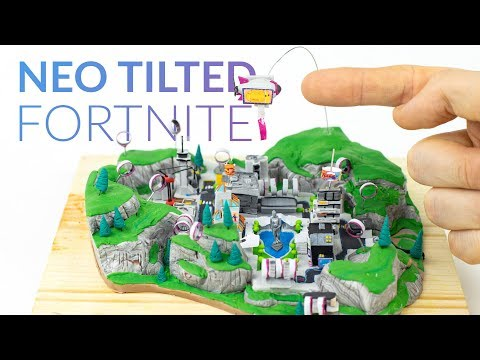 Making NEO TILTED with Polymer Clay (Fortnite Battle Royale)