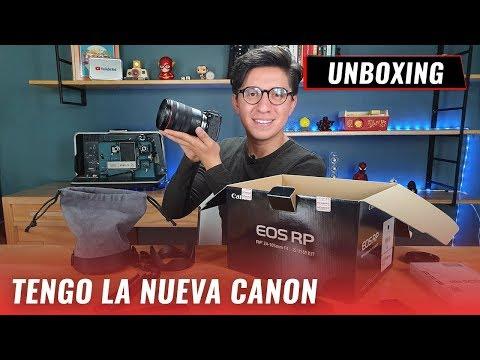 Cámara Canon EOS RP: Unboxing en español