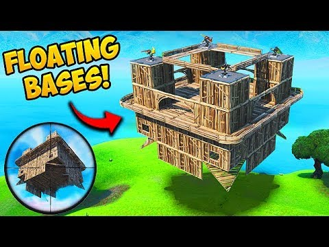 *NEW* FLOATING BASE TROLLING TRICK! – Fortnite Funny Moments! #574