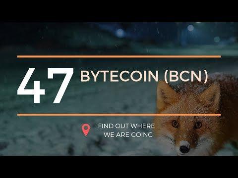 $0.001 Bytecoin BCN Technical Analysis (31 May 2019)