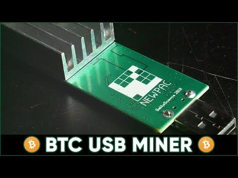 Gekkoscience NewPac – USB BTC Mining (100 GH/s + on Bitcoin) Setup / How to