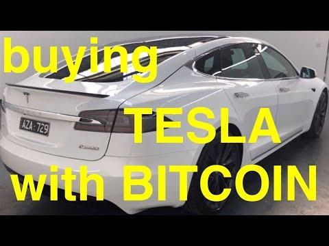Buying TESLA S P100D with Bitcoin Cash