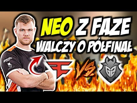 NEO Z FAZE VS G2 W WALCE O PÓŁFINAŁ!!! ZNAKOMITY CLUTCH NEO, GUARDIAN ACE – CSGO BEST MOMENTS