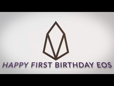 EOS 1st Birthday Celebration! – GenerEOS