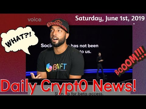 Daily News – EOS Voice | Binance DEX To Bar 29 Countries From Access | Ethereum Gas Increase | More!