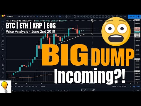 BTC ABOUT TO DUMP?! — BTC | ETH | XRP | EOS Price Analysis – June 2nd 2019