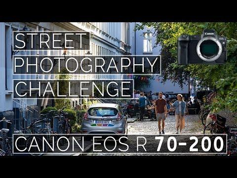 Street Photography CHALLENGE Canon EOS R 70-200 Hamburg Germany