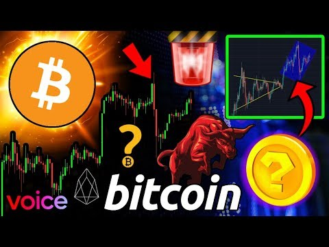 BITCOIN Nears CRITICAL Level! ALTCOINS in TROUBLE?! BTC Flash Crash!? EOS Voice