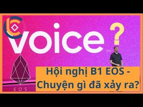 #363 – Hội nghị B1 EOS – Chuyện gì đã xảy ra?