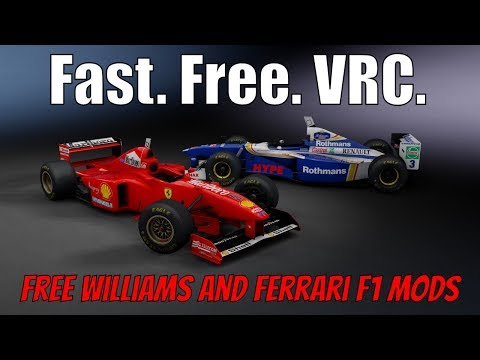 2 New Free V10 F1 Car Mods for Assetto Corsa (VRC Modding)