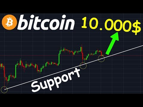 BITCOIN 10.000$ TOUT PROCHE !? btc analyse technique crypto monnaie