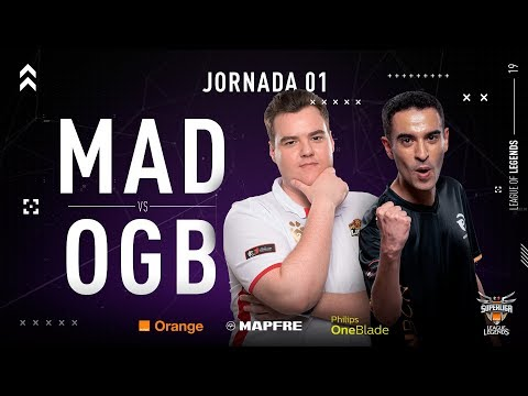 MAD LIONS E.C. VS ORIGEN BCN | Superliga Orange League of Legends | Jornada 1 | Temporada 2019