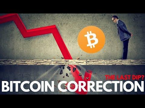 Bitcoin Correction, The Last Dip? Binance, McAfee Crypto – Cryptocurrency News