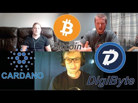 Digibyte & Cardano Talk With Crypto Currently And Bitcoin Price Predictions! #Podcast 63