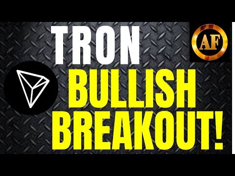 Tron (TRX) – BULLISH BREAKOUT PATTERN – Tron set to benefit!