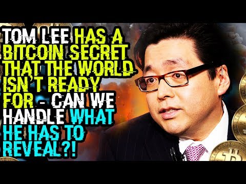 TOM LEE HAS A BITCOIN SECRET THAT THE WORLD ISN'T READY FOR – CAN WE HANDLE WHAT HE HAS TO REVEAL?!