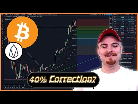 Bitcoin & EOS Price Analysis – 40% Correction? – EOS AMA LIVE – Bitcoin & EOS Price Prediction