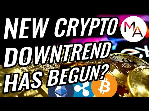 New Downtrend Has Begun In Bitcoin & Crypto Markets? | Cryptocurrency As A Recession Safeguard