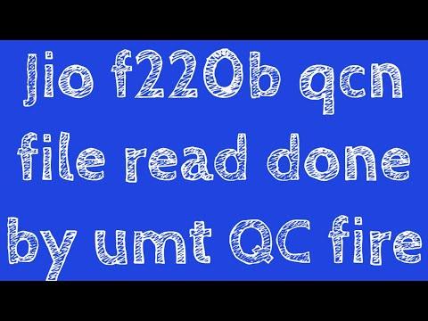 Jio f220b qcn file