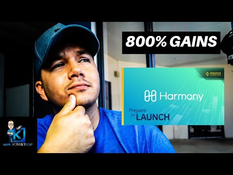 HARMONY ONE gave me 800% gains! MORE BITCOIN BABY! I screwed up by not buying TRON.