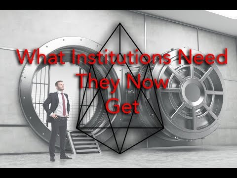#EOS and Institutional Buyers, What They'll Want – VOICE & Follow My Vote