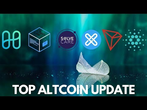 Top Altcoin Updates – Tron, Cardano, Solve.Care, GX Chain, Harmony, Chainlink