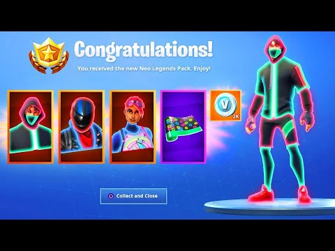 The New NEO LEGENDS PACK in Fortnite..