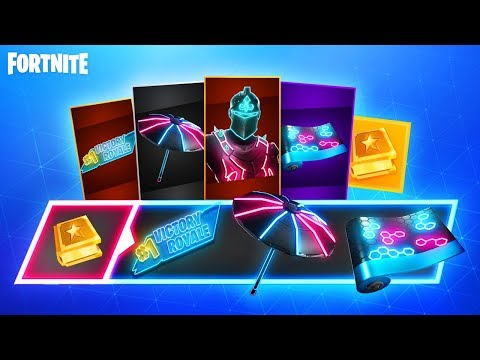 The NEW Fortnite NEO LEGENDS Pack…