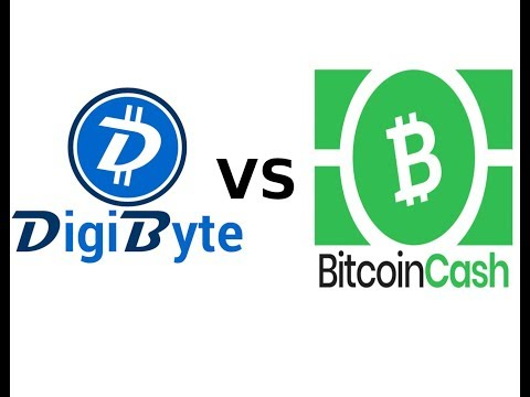 Bitcoin Cash VS. Digibyte. Which one wins?