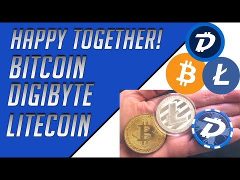 The Big 3 are Happy Together – (DigiByte Bitcoin Litecoin) Crypto