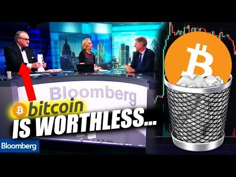 Bitcoin is worthless, Nobody uses it…