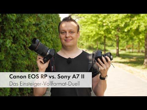 Canon EOS RP vs. Sony A7 II | Duell der Einsteiger-Vollformat-DSLMs [Deutsch]