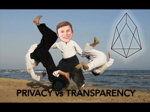 Radical Transparency or Radical Privacy? #EOS #BITCOIN #ETHEREUM