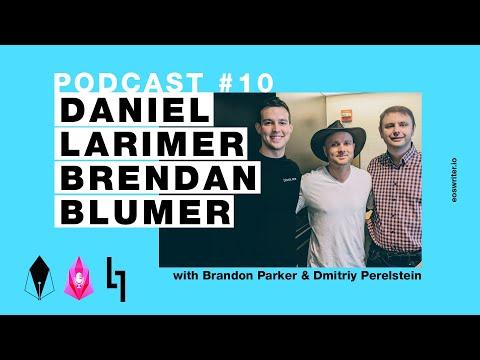 The EOSwriter Podcast #10 – Daniel Larimer & Brendan Blumer