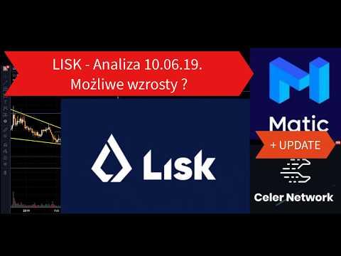 LISK – Możliwy duży wzrost? Analiza 10.06 + UPDATE Kryptowalut Celer i Matic